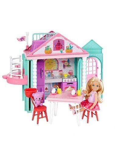 Barbie Barbie Chelseanin İki Katlı Evi Renkli